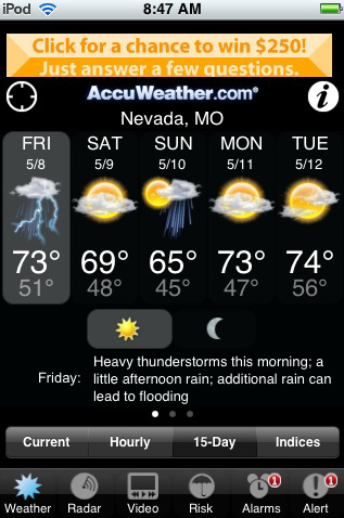 AccuWeather.com (iPhone) - Download
