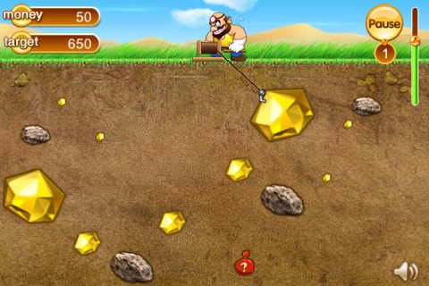 golden-miner-iphone-game-review