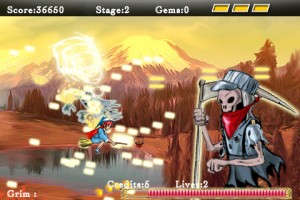 blazing-arc-iphone-game-review-boss-grim