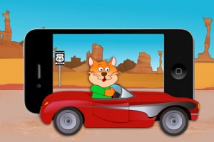 crazy-cat-usa-iphone-game-review-car