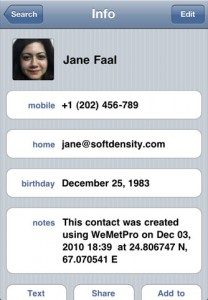 wemet-pro-iphone-app-review-contact-book