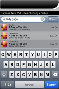 karaoke-now-iphone-app-review-search