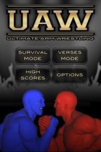 ultimate-arm-wrestling-iphone-game-review-home-screen