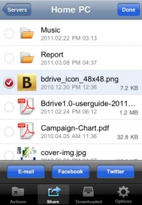 bdrive-iphone-app-review-actions