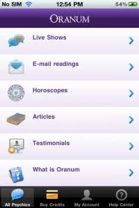 oranum-iphone-app-review-home