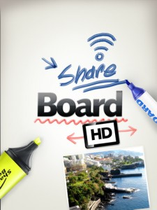 Share Board iPad App screenshot