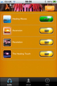 healing-waves-iphone-app-review-albums