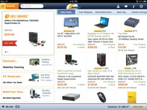 newegg-ipad-app-review