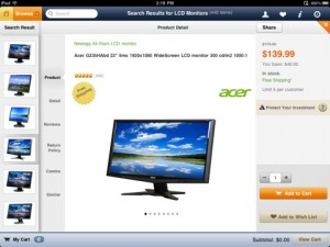 newegg-ipad-app-review-product