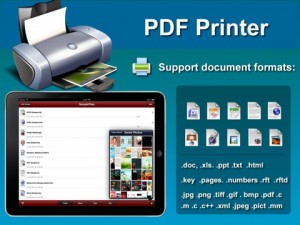 PDF Printer  iPad App screenshot