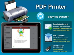 PDF Printer iPad App screenshot 2
