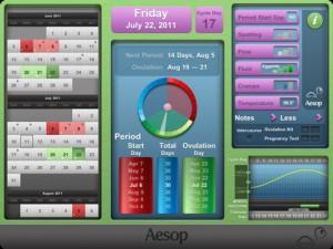 Period Pace iPad App screenshot 1