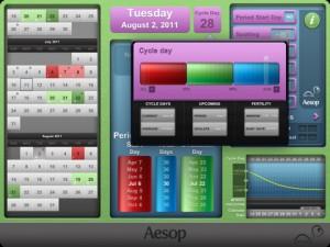 Period Pace iPad App screenshot 2