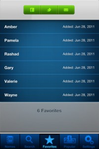 popular baby names iPhone Screenshot 5