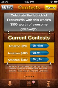 free-app-win-iphone-app-review-contests