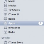 iTunes Applications Sidebar