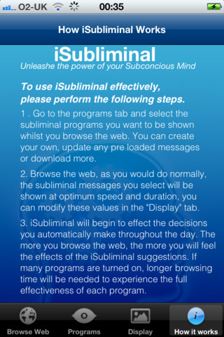 iSubliminal iPhone App Review - Appbite com
