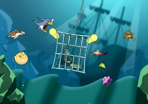 stop-those-fish-ipad-game-review-cage