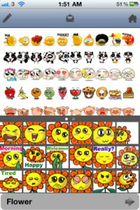 aniemoticons-iphone-app-review-flowers