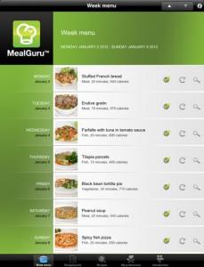meal-guru-ipad-app-review-menu