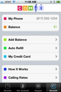 comfi-call-international-iphone-app-review-account
