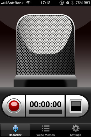 Voice Recorder HD iPhone App Review - Appbite com