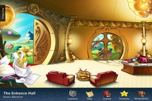 funky-bee-iphone-game-review-entrance-hall