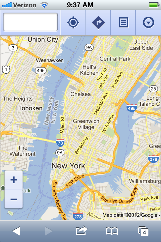 Lost your Google Maps after updating to iOS 6 ? Here is a work