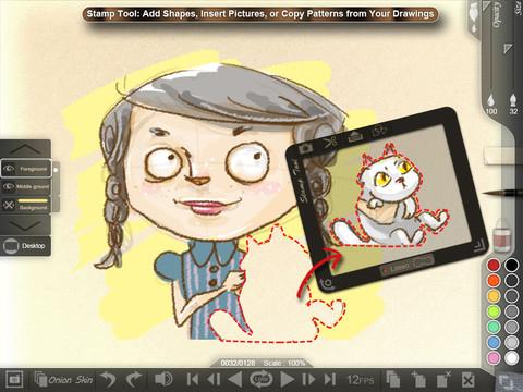 Animation Desk iPad App Review - Appbite com