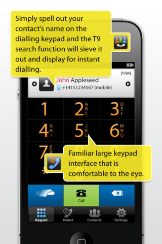 iCallU iPhone App Review - Appbite com