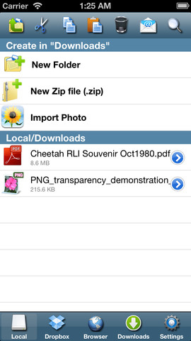 iFile Download Manager - Appbite com
