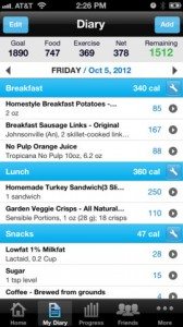 my-fitness-pal-iphone-app-review-diary