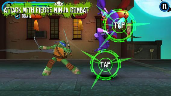 Teenage mutant ninja turtles rooftop run iphone game review appbite