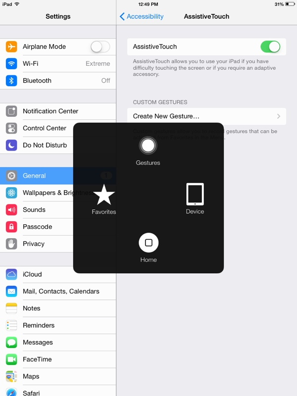 Lovely How To Create A Virtual Home Button On