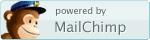 powered by mailchimp.com badge